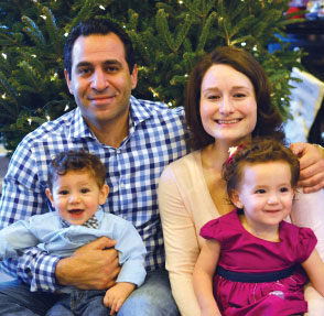 Dr. Omar Fetouh and family